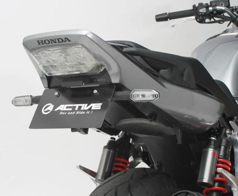 バイク用品 外装 フェンダーアクティブ フェンダーレスKIT LEDナンバートウツキ BLK CB1300SF SB 10-19 CB1300SF SP SB SP 19ACTIVE 1151095 取寄品