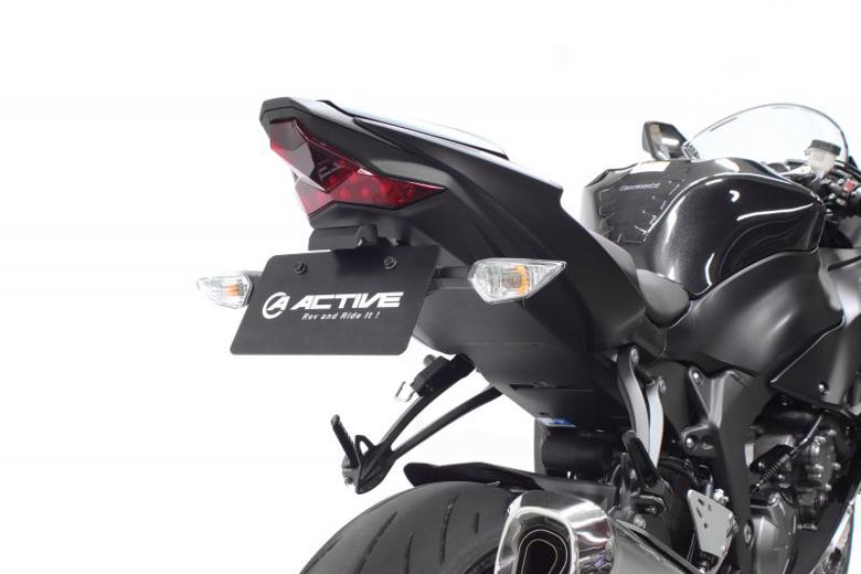 スーパーセール バイク用品 外装 フェンダーアクティブ フェンダーレスKIT LEDナンバートウツキ BLK ZX-6R 19ACTIVE 1157094 取寄品