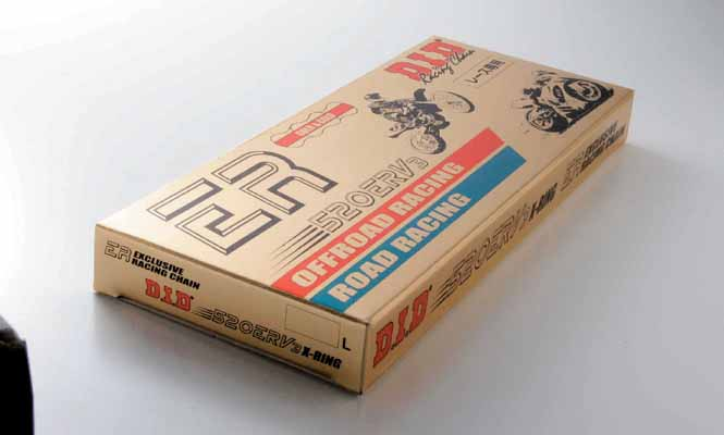 スーパーセール バイク用品 駆動系 チェーン&ドライブベルトDID 525ERV GOLD 120Lディーアイディー 525ERV 取寄品
