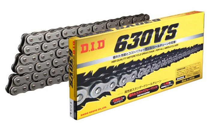 スーパーセール バイク用品 駆動系 チェーン&ドライブベルトDID 630VS 124Lディーアイディー 630VS 取寄品
