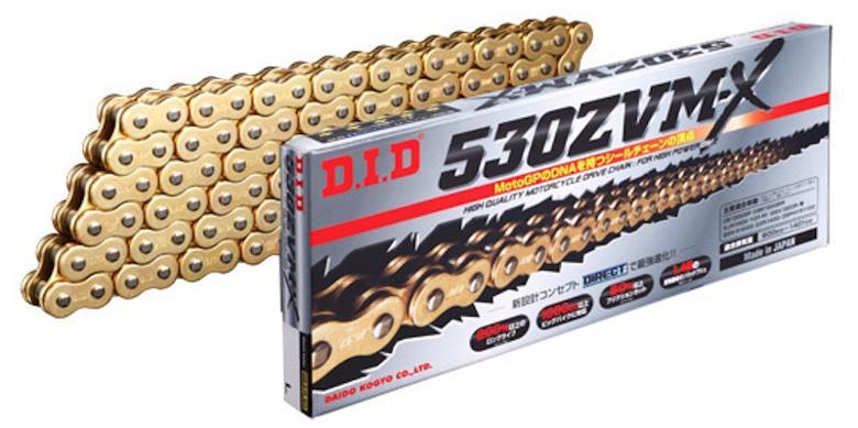 スーパーセール バイク用品 駆動系 チェーン&ドライブベルトDID 530ZVM-X G&G ゴールド 128L ZVMXシリーズディーアイディー 530ZVM-X G&G 取寄品