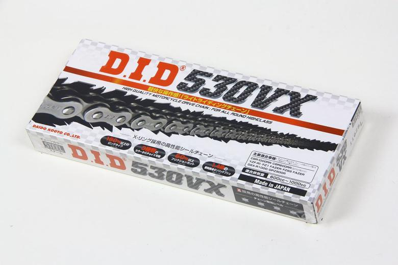 スーパーセール バイク用品 駆動系 チェーン&ドライブベルトDID 530VX スチール 96Lディーアイディー 530VX 取寄品