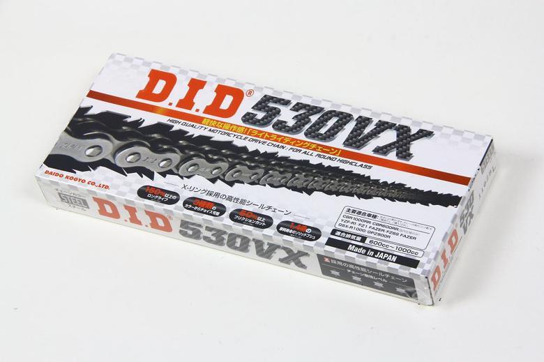 スーパーセール バイク用品 駆動系 チェーン&ドライブベルトDID 530VX スチール 98Lディーアイディー 530VX 取寄品