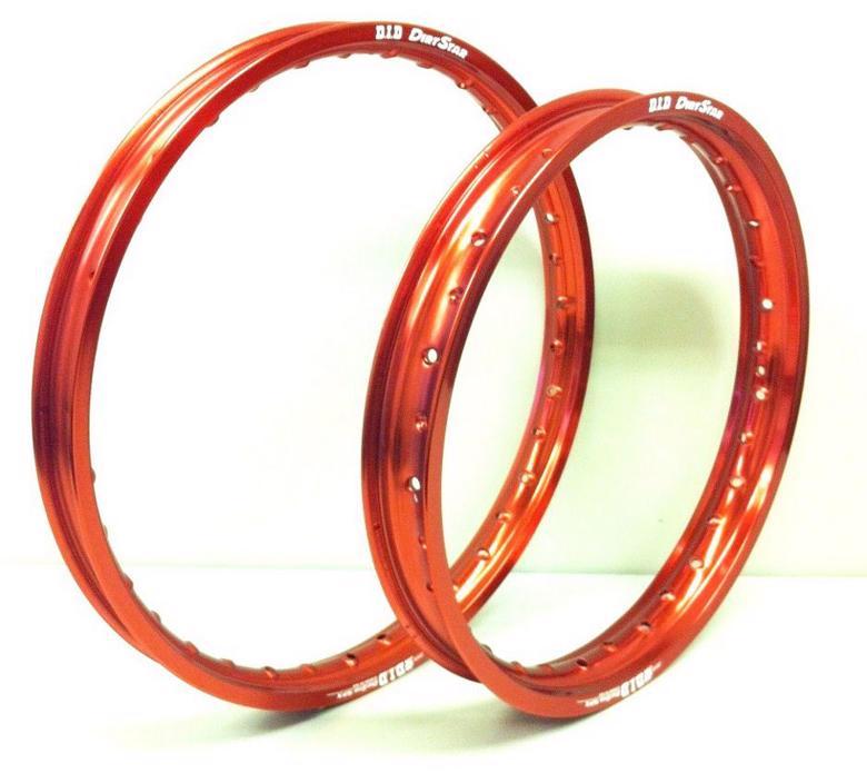 年末年始セール NewYearSALE バイク用品 タイヤ&ホイール ホイール&リム&ホイールハブ&スポークDID DIRTSTAR リム F21X1.60 RED CRF250L 12ディーアイディー取寄品