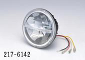 バイク用品 電装系 汎用バルブ&電飾品キジマ ヘッドライトユニット 5-3 4 LEDKIJIMA 217-6142 取寄品