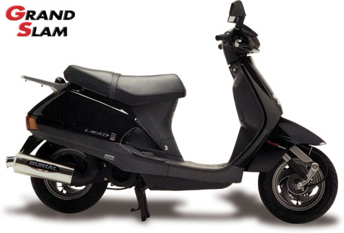 スーパーセール バイク用品 マフラー 2ストマフラー&チャンバーベリアル グランドスラム(チャンバー) SLV リード90BURIAL H03-01-00 取寄品