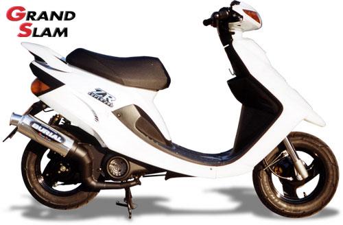 スーパーセール バイク用品 マフラー 2ストマフラー&チャンバーベリアル グランドスラム(チャンバー) RED JOG-ZR 00BURIAL Y04-01-01 取寄品
