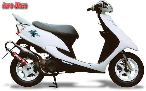 バイク用品 マフラー 2ストマフラー&チャンバーベリアル ユーロブレイズチャンバー RED JOG-ZR 01-BURIAL Y05-05-01 取寄品