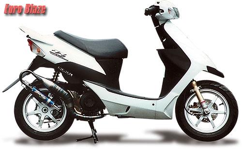スーパーセール バイク用品 マフラー 2ストマフラー&チャンバーベリアル ユーロブレイズチャンバー BLK スズキZZBURIAL 10350 取寄品