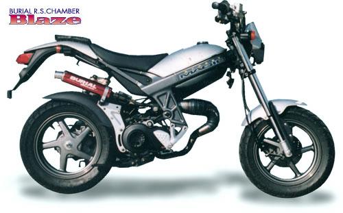 スーパーセール バイク用品 マフラー 2ストマフラー&チャンバーベリアル ブレイズチャンバー BLK ストリートマジック50 2BURIAL 11384 取寄品