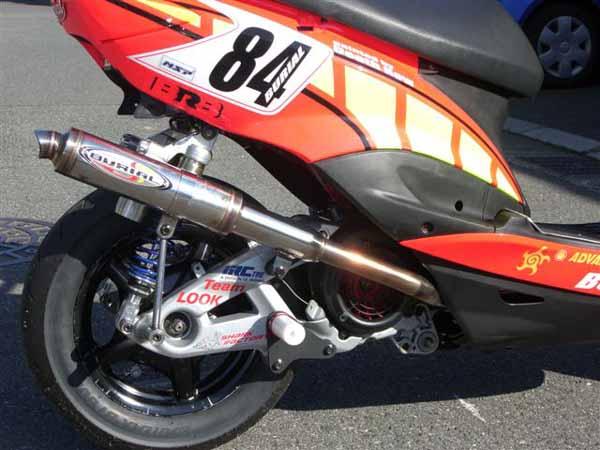 スーパーセール バイク用品 マフラー 4ストフルエキゾーストマフラーベリアル GPバージョンマーク1 シグナスXBURIAL Y17-13-00 取寄品