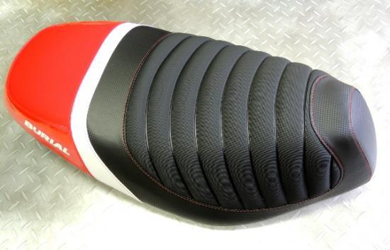 バイク用品 外装 シートベリアル スポルティブシート RED アドレスV125BURIAL S08-15-01 取寄品
