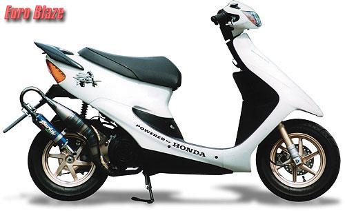スーパーセール バイク用品 マフラー 2ストマフラー&チャンバーベリアル ユーロブレイズチャンバーBLK パープル ライブDIO ZXBURIAL 32652 取寄品