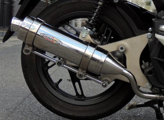 バイク用品 マフラー 4ストフルエキゾーストマフラーベリアル ネクサスマフラー 2、3型 PCX125BURIAL H16-13-00 取寄品 セール