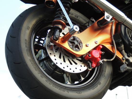 スーパーセール バイク用品 サスペンション&ローダウン リアサスペンションベリアル リアディスクキット シグナスXBURIAL Y17-30-03 取寄品