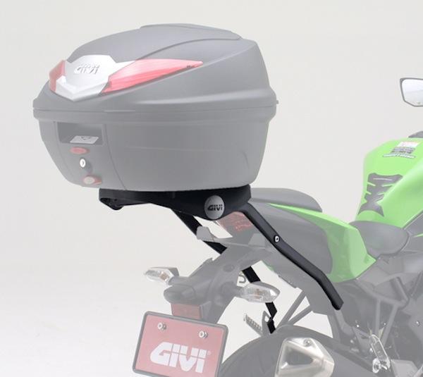 スーパーセール バイク用品 ケース(バッグ) キャリア 車両用ハードケースGIVI GIVI SRV フィッティ NINJA250SLジビ 93169 取寄品