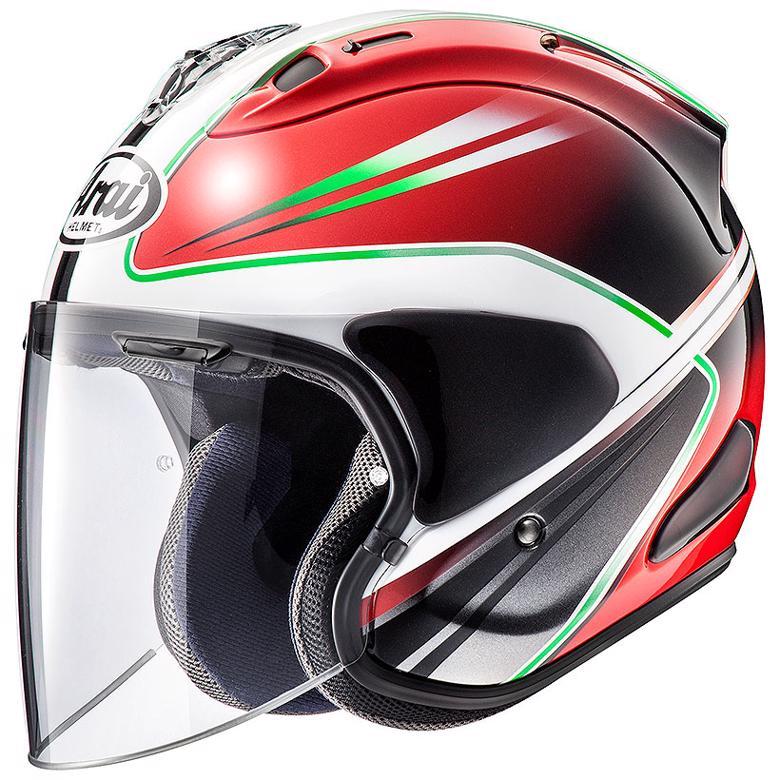 新しいブランド バイク用品 ヘルメット ヘルメットArai VZ-RAM WEDGE RED #S(55-56)アライ 4530935527663 取寄品, 飛騨高山の甚五郎商店 d9b59eb8