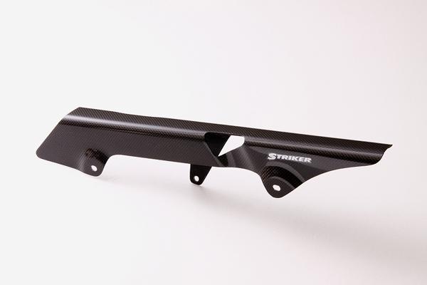 スーパーセール バイク用品 サスペンション&ローダウン スイングアームストライカー カーボンチェーンカバー ZEPHYR750STRIKER SAD-CC03C 取寄品
