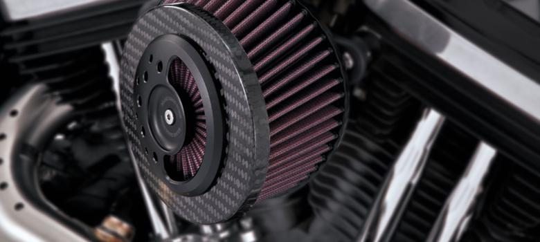 スーパーセール バイク用品 吸気系&エンジン エアークリーナー&エアファンネルVanceHines SLANT CARBON AIR INTAKE SPORTSTER 07-19バンスアンドハインズ 1010-1248 取寄品