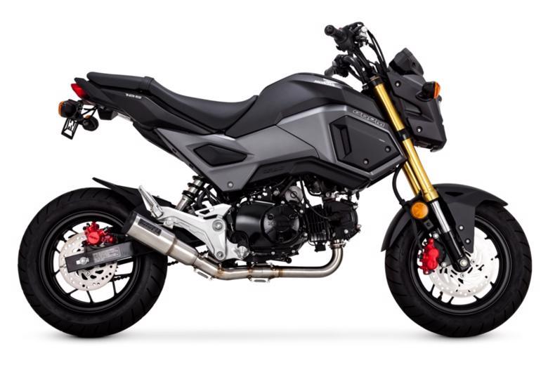 スーパーセール バイク用品 マフラー 4ストスリップオン&ボルトオンマフラーVanceHines HI-OUT PUT HOOLIGAN ステン MSX125 GROM 17-19バンスアンドハインズ 1811-3773 取寄品