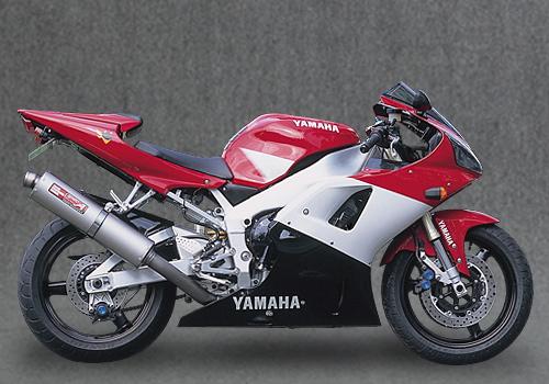 セール バイク用品 マフラー 4ストスリップオン&ボルトオンマフラーヤマモト.R チタンスリップオンDOWNカーボンサイレンサー YZF-R1 -01YAMAMOTORACING 21001-01DCN 取寄品