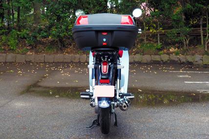 スーパーセール バイク用品 ケース(バッグ) キャリア 車両用ハードケースワールドウォーク リアキャリア+43Lリアボックスセット C125 18WorldWalk wca-36-hwb43 取寄品