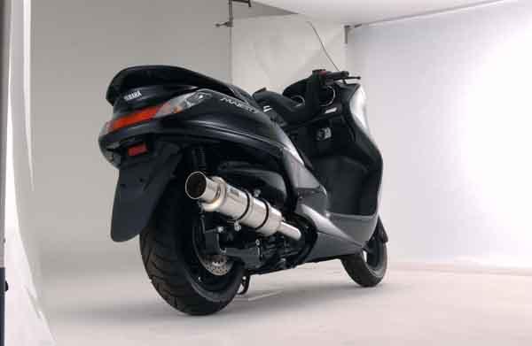 バイク用品 マフラー 4ストフルエキゾーストマフラービームス CAコルサステンレス グランドマジェ250BEAMS B208-21-000 取寄品