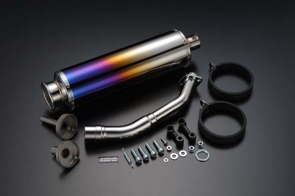 スーパーセール バイク用品 マフラー 4ストフルエキゾーストマフラービームス SS400チタンSP JMCA FUSION MF02BEAMS J106-12-000 取寄品