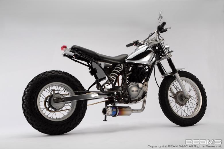 バイク用品 マフラー 4ストフルエキゾーストマフラービームス SS300チタン-SP JMCA TW225 DG09JBEAMS J201-09-000 取寄品