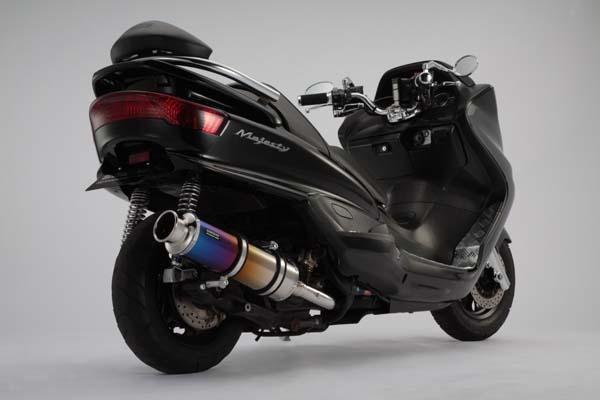 スーパーセール バイク用品 マフラー 4ストフルエキゾーストマフラービームス SS400チタンSP JMCA MAJESTY SG03JBEAMS J205-12-000 取寄品