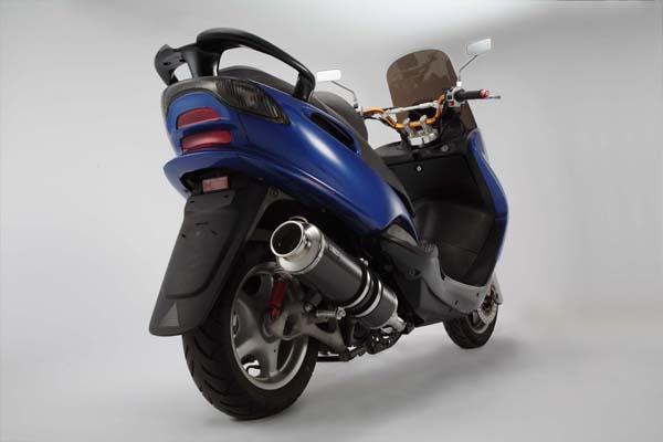 スーパーセール バイク用品 マフラー 4ストフルエキゾーストマフラービームス SS400カーボンIISP JMCA MAJESTY125 5CABEAMS J207-11-000 取寄品