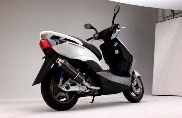 スーパーセール バイク用品 マフラー 4ストフルエキゾーストマフラービームス SS300カーボン-SP JMCA シグナスX SE12JBEAMS J209-08-000 取寄品