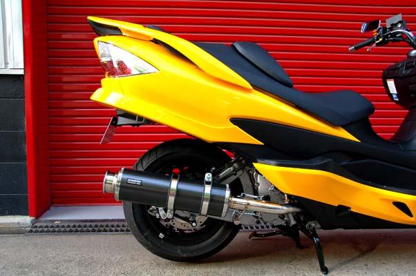 スーパーセール バイク用品 マフラー 4ストフルエキゾーストマフラービームス SS400カーボンIISP JMCA SKYWAVE CJ45ABEAMS J312-11-000 取寄品