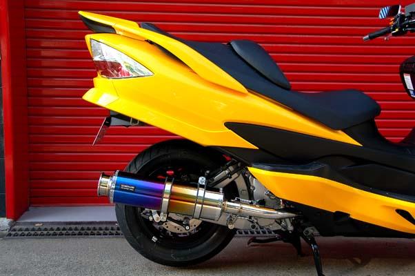 スーパーセール バイク用品 マフラー 4ストフルエキゾーストマフラービームス SS400チタンSP JMCA SKYWAVE CJ45A JBK-CJ45ABEAMS J312-12-000 取寄品