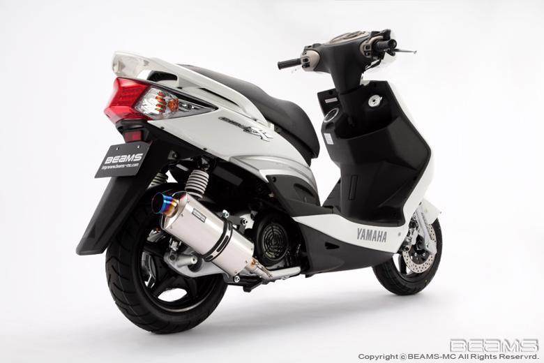 スーパーセール バイク用品 マフラー 4ストフルエキゾーストマフラービームス シェイプスクエア CYGNUS X Fi 09- 台湾モデルBEAMS B226-60-000 取寄品
