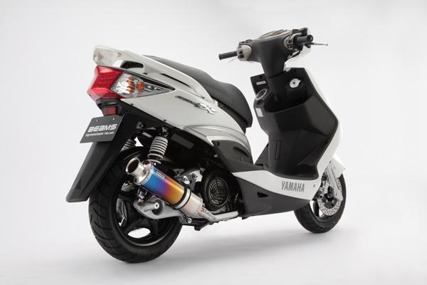 スーパーセール バイク用品 マフラー 4ストフルエキゾーストマフラービームス SS300チタン-SP JMCA シグナスX 09- タイワンBEAMS J226-09-000 取寄品