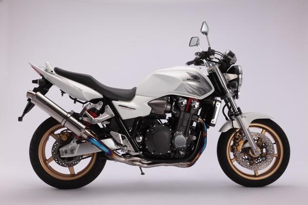 スーパーセール バイク用品 マフラー 4ストフルエキゾーストマフラービームス R-EVO チタンPOL レーシング CB1300SF 08-(EBL-SC54)BEAMS D108-53-T2S 取寄品