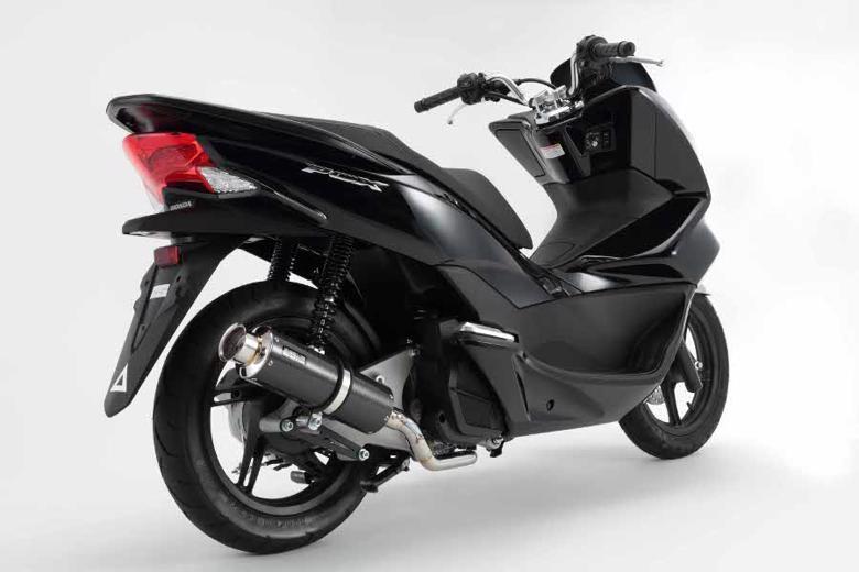 バイク用品 マフラー 4ストフルエキゾーストマフラービームス SS300カーボンSP PCX125 14 EBJ-JF56BEAMS G165-08-000 取寄品