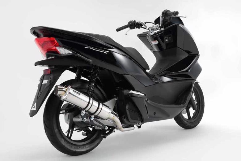 バイク用品 マフラー 4ストフルエキゾーストマフラービームス R-EVOステンレスサイレンサーSP PCX125 14 EBJ-JF56BEAMS G165-53-008 取寄品