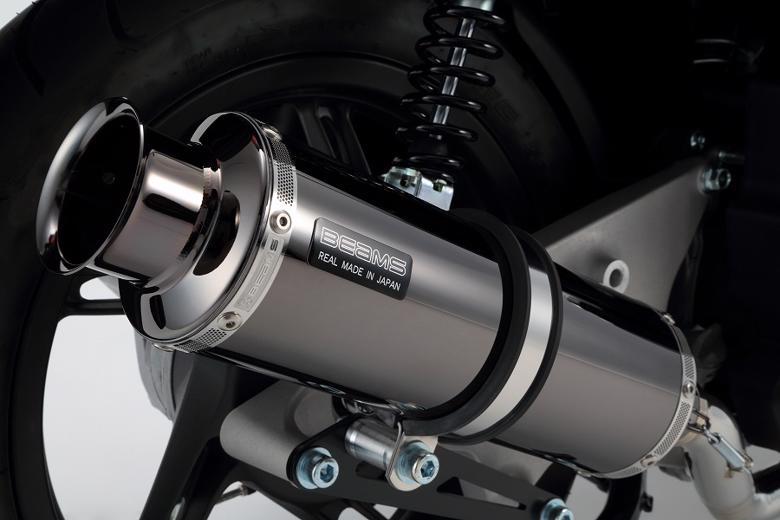 スーパーセール バイク用品 マフラー 4ストフルエキゾーストマフラービームス SS300SMB SP シグナスX 08- (EBJ-SE44J)BEAMS G220-05-000 取寄品
