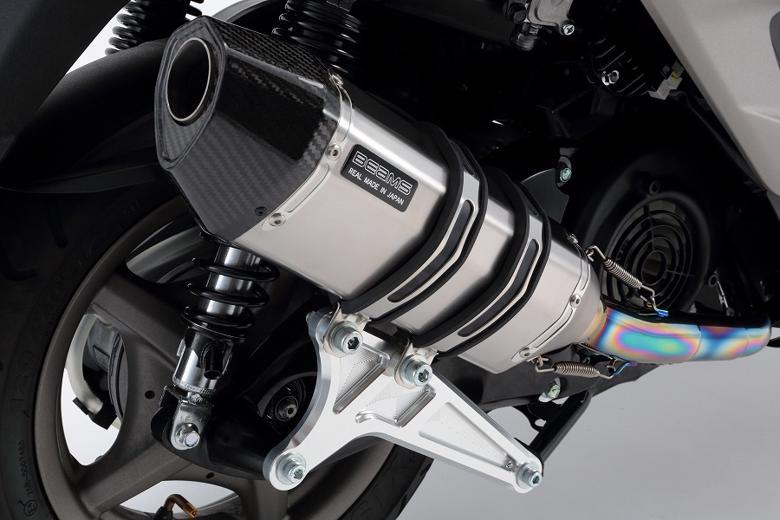 スーパーセール バイク用品 マフラー 4ストフルエキゾーストマフラービームス CORSA-EVO2 チタンSP シグナスX 08- (EBJ-SE44J)BEAMS G220-65-000 取寄品