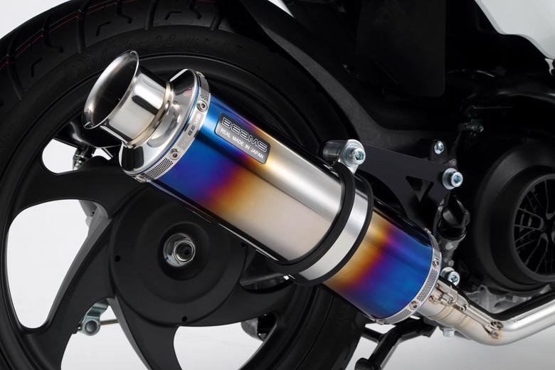 スーパーセール バイク用品 マフラー 4ストフルエキゾーストマフラービームス SS300ヒートチタンSP Dio110 JF58 15-BEAMS G170-06-000 取寄品