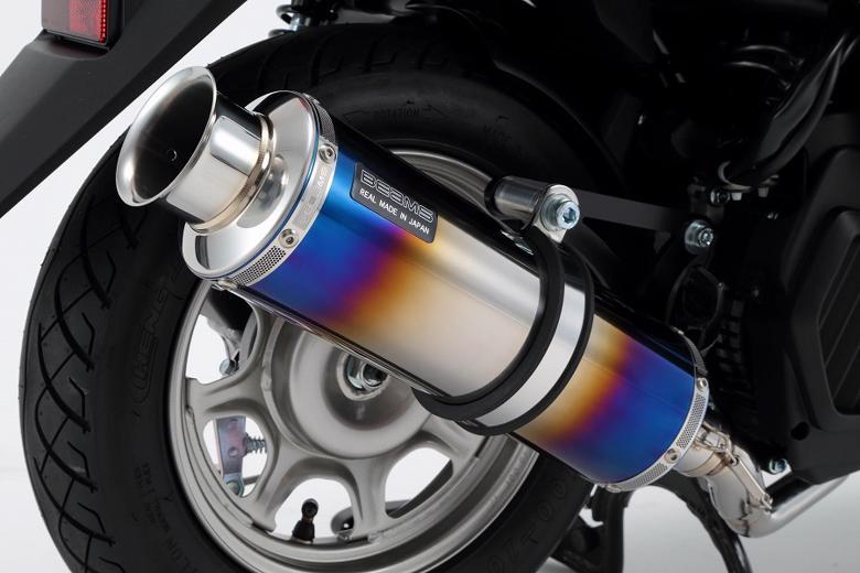 スーパーセール バイク用品 マフラー 4ストフルエキゾーストマフラービームス SS300ヒートチタンSP TACTBEAMS G171-06-000 取寄品