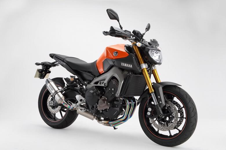 スーパーセール バイク用品 マフラー 4ストフルエキゾーストマフラービームス CORSA-EVOII チタン フルエキ MT-09BEAMS G236-65-T1J 取寄品