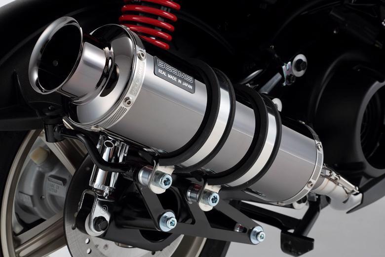 バイク用品 マフラー 4ストフルエキゾーストマフラービームス SS300SMB SP シグナスX 16-(国内用)BEAMS G241-05-000 取寄品