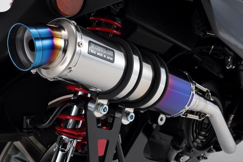 スーパーセール バイク用品 マフラー 4ストフルエキゾーストマフラービームス R-EVO チタンサイレンサー シグナスX 16-(国内用)BEAMS G241-53-007 取寄品