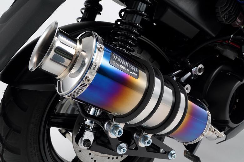 スーパーセール バイク用品 マフラー 4ストフルエキゾーストマフラービームス SS300ヒートチタンSP BWs125 16-(国内)EBJ-SEA6JBEAMS G243-06-000 取寄品