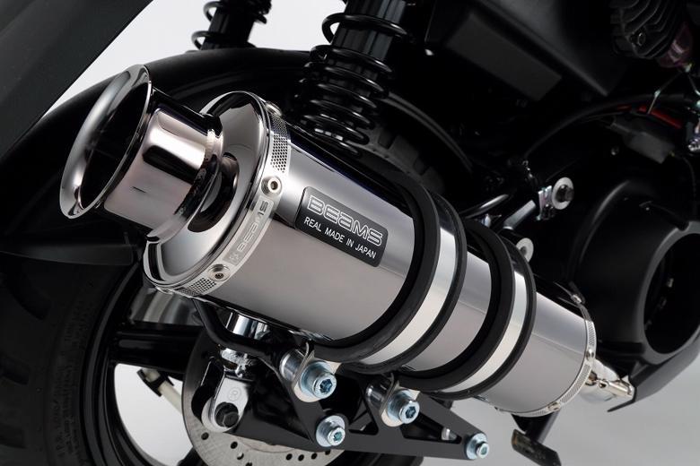 スーパーセール バイク用品 マフラー 4ストフルエキゾーストマフラービームス SS300SMB SP BWs125 16-(国内)EBJ-SEA6JBEAMS G243-05-000 取寄品