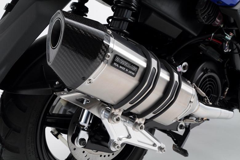 スーパーセール バイク用品 マフラー 4ストフルエキゾーストマフラービームス CORSA-EVOIIステン BWs125 16-(国内)EBJ-SEA6JBEAMS G243-64-000 取寄品