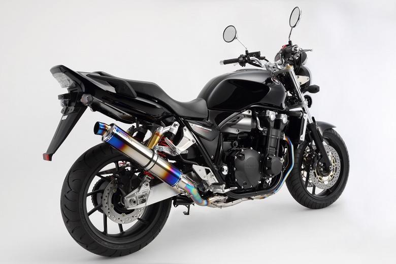 スーパーセール バイク用品 マフラー 4ストフルエキゾーストマフラービームス R-EVO ヒートチタン フルエキ CB1300SF 14-BEAMS G173-53-T1J 取寄品